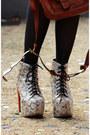 Cream-lita-jeffrey-campbell-boots-bronze-boyfriends-shirt