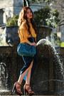 Turquoise-blue-miu-miu-bag-ysl-ring-ss11-chanel-earrings-tawny-topshop-hee