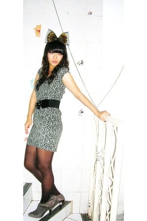 Zara dress - Zara boots