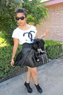 Leather-lace-up-urbanog-boots-studded-agaci-bag-chanel-romwe-blouse