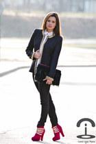 Queens Wardrobe jacket - Amintas Fashion boots - DIY Crmenes de la Moda bag