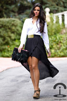 Zara skirt - DIY Crmenes de la Moda shirt - DIY Crmenes de la Moda bag