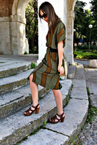 army green Miss Vintage dress