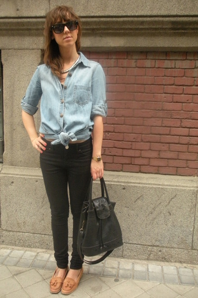 purse vintage from templo de susu accessories - brown Zara shoes
