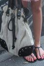 Pink-oysho-dress-pink-oysho-necklace-black-shoes-beige-zara-accessories-