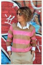 H&M sweater - H&M pants - Ray Ban glasses