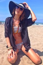Primark hat - H&M shirt - BLANCO swimwear