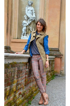 Tommy Hilfiger coat - pull&amp;bear pants