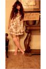 Thrift-dress-heart-tights