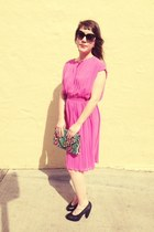 hot pink dress