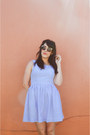 Dress-fracescas-dress-sunnies-forever-21-sunglasses-sandals-aldo-sandals