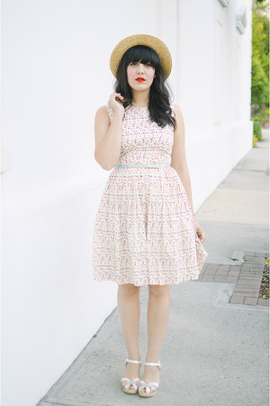 Emily and Fin dress - swedish hasbeen clogs