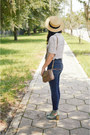 Seychelles-shoes-abercrombie-and-fitch-jeans-straw-hat-forever-21-hat