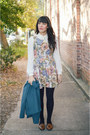 Brown-loafers-modcloth-shoes-tapestry-dress-chicwish-dress
