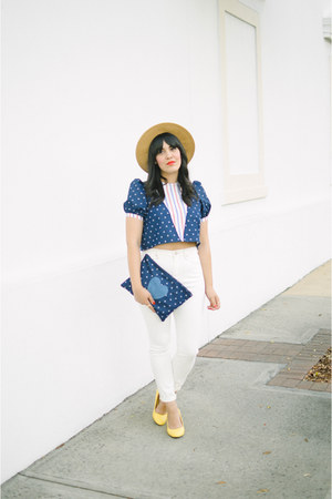Wimick top - Urban Outfitters jeans - modcloth heels