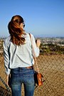 Madewell-jeans-blue-chambray-j-crew-shirt-leather-madewell-bag