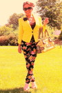yellow Candies blazer - chartreuse Marciano Guess purse