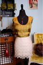 Gold-bb-dakota-blouse-beige-bb-dakota-skirt