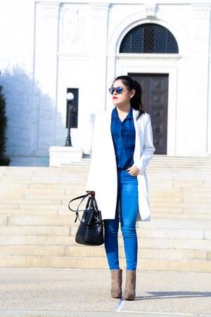 Zara jeans - Zara bag - Zara bag - Zara top