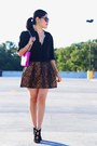 Zara-jacket-kate-spade-bag-zara-heels-zara-skirt-ralph-lauren-blouse