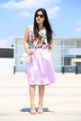 Vintage-bag-zara-necklace-zara-skirt-zara-sandals-h-m-blouse