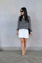 Zara sandals - Ralph Lauren sunglasses - Zara skirt - Zara blouse