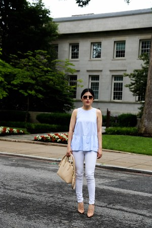 Zara jeans - Zara bag - Zara top - Christian Louboutin heels
