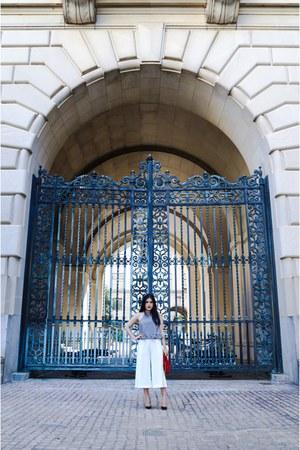 Zara shorts - Zara top - Christian Louboutin heels