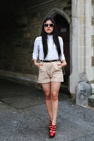 Zara shirt - Prada shorts