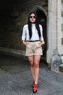 Zara-shirt-prada-shorts
