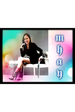 Kamiseta blazer - mint dress - Rusty Lopez heels