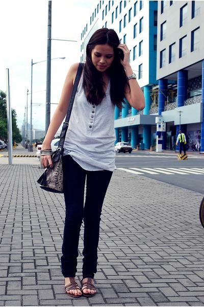 Zara top - Terranova jeans