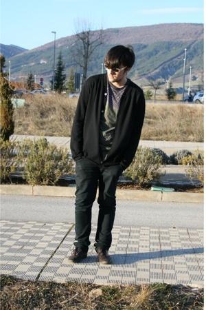 Miu Miu sunglasses - Marc by Marc Jacobs t-shirt - energie pants - Topman shoes