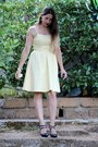 Navy-faux-leather-stradivarius-shoes-light-yellow-cotton-h-m-dress
