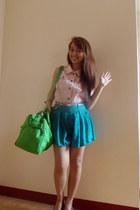 turquoise blue skorts Clothes forthe Goddess shorts