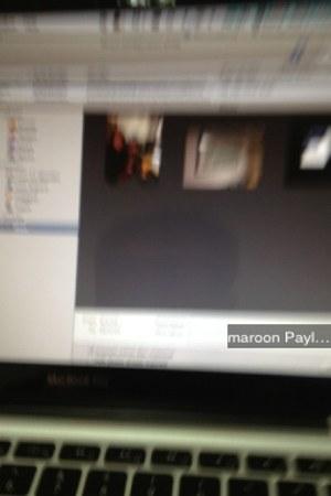 maroon hhhhh Payless jacket