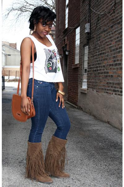 Forever 21 Boots, Hollister Jeans, Dooney & Bourke Bags, Marika ...