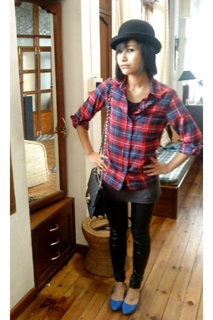 Topshop shirt - Chanel purse