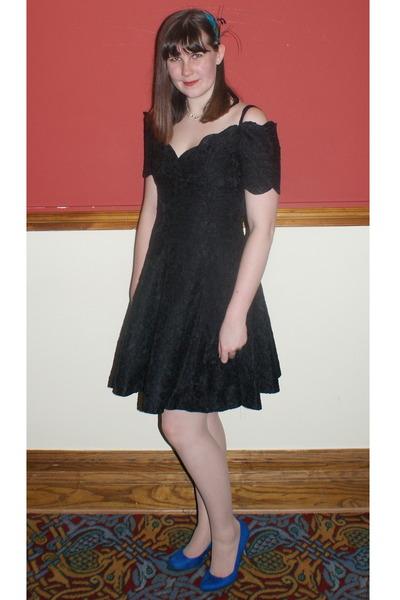 black vintage dresses blue dorothy perkins shoes quot my