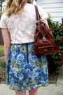 Blue-hollister-jacket-beige-thrifted-shirt-brown-vintage-purse-blue-kimchi