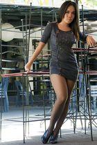 cybils dress - Le Donne shoes - aimees stockings