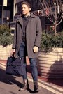 Dark-brown-aldo-boots-navy-levis-jeans-dark-gray-club-monaco-sweater