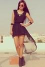 Black-forever-21-boots-black-romwecom-dress-black-h-m-bracelet