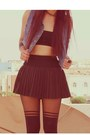 Black-topshop-tights-periwinkle-denim-vintage-vest-black-oasapcom-skirt