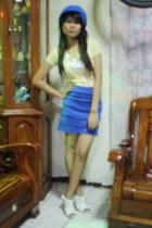 blue SM skirt