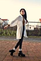 black chunky Style Nanda boots