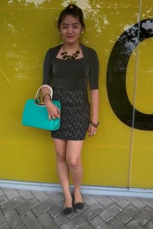 BlueGreen Primadonna bag - Random Brand Accesories accessories - Celine flats