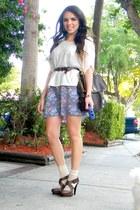 brown Forever 21 heels