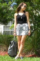 Forever 21 purse - Steve Madden shoes - Forever 21 top - Forever 21 necklace - F
