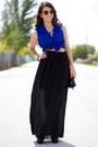 Blue-beginning-boutique-shirt-black-vintage-bag-black-urbanog-shorts